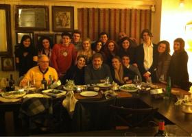 A cena con Gigi Proietti